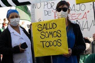 En el Día Internacional de la Enfermería, médicos se suman a reclamo frente al Ministerio de Salud