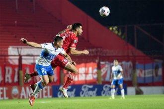 Zampedri convirtió el gol que llevó a Católica a vencer a Argentinos Juniors