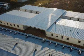 Construirán otro hospital modular en Entre Ríos, sobre la costa del Paraná