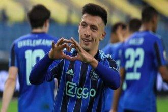Domingo redondo para Lisandro: citación y gol para el triunfo del Ajax