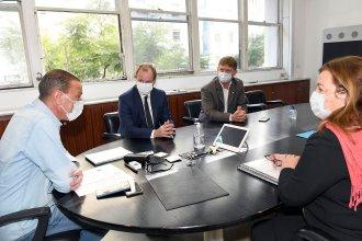 Con ministros nacionales, Bordet acordó obras e inversiones para Entre Ríos