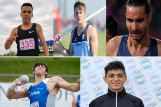 Quiénes son los 5 entrerrianos que competirán en Guayaquil