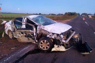 Tremendo impacto dejó consecuencias en las manos del conductor