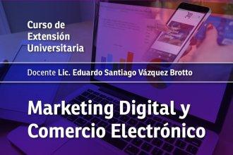 Inscriben a un curso con eje en marketing digital y comercio electrónico