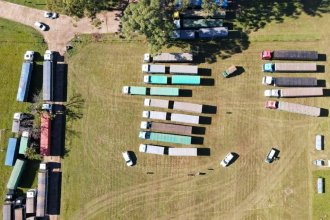 Contrabandeaban 451 toneladas de soja y 28 de maíz en una flota de camiones, acoplados y hasta un tractor