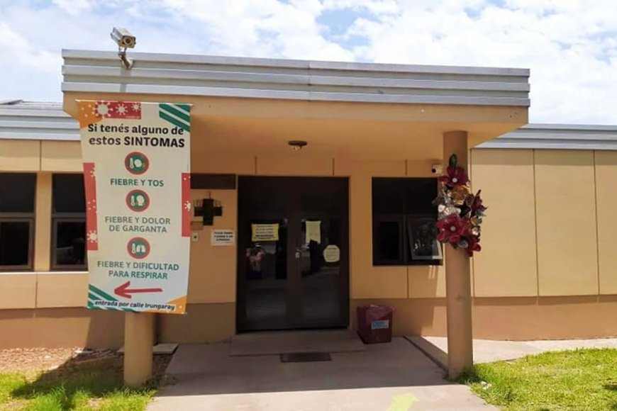 El hospital San Roque, en Villa Elisa.