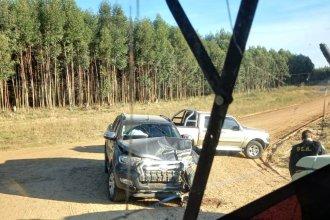 Falta de ambulancias en Chajarí: hubo un choque y un hombre lesionado fue trasladado al hospital en camión