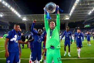 Tras ganar la Champions League, Willy Caballero se despide de Chelsea
