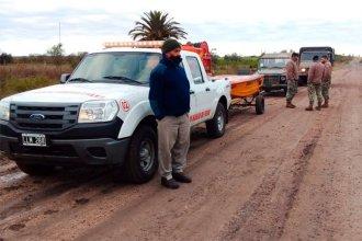 Buscan a dos hombres perdidos desde el jueves: la embarcación se les dio vuelta en el río