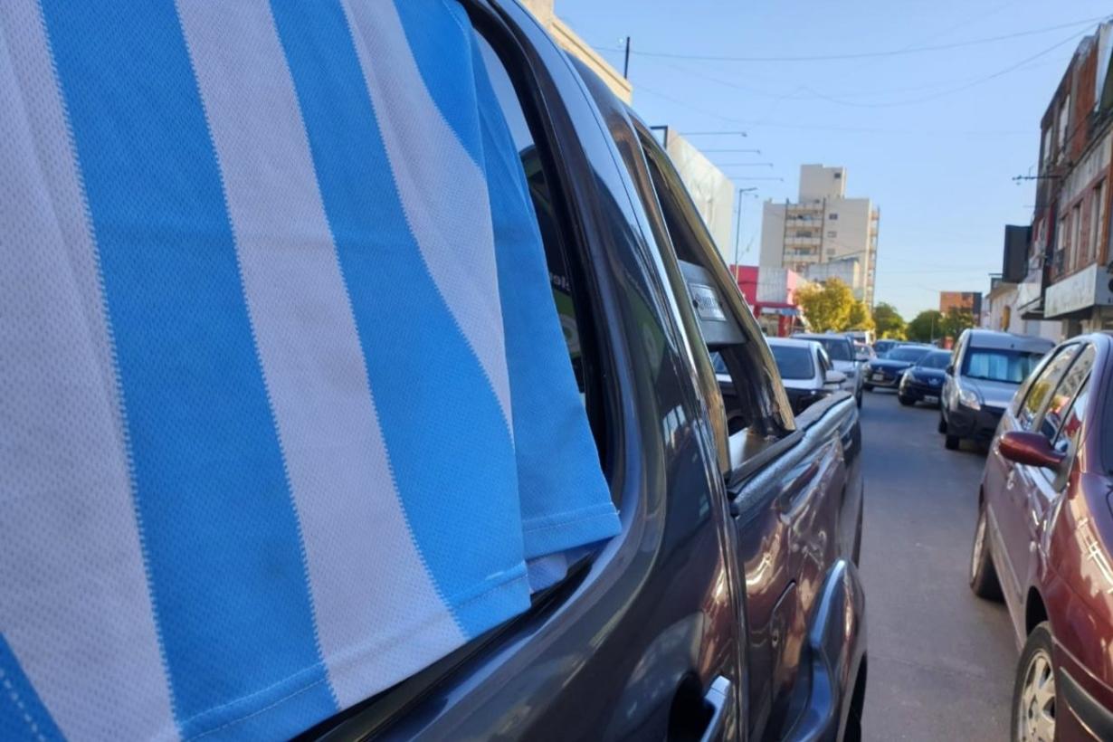La movilización fue este domingo en Gualeguauychú.