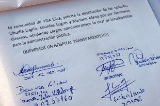 """Juntan firmas para pedir """"transparencia"""" en la administración del hospital denunciado"""
