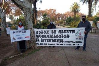 """Reclamo sindicalista al intendente de Colón: """"El único departamento de alto riesgo que no solicitó clases virtuales"""""""