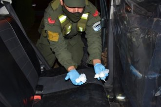 Remís… de droga y plata negra: voz de alerta en una ruta provincial