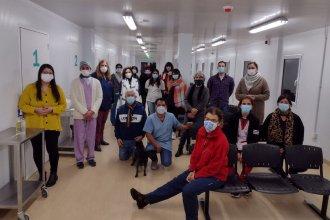 Más de 700 dosis en un sábado: maratónica jornada de vacunación en el San Benjamín