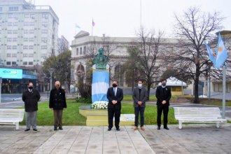Así homenajeó Concordia al creador de la bandera argentina