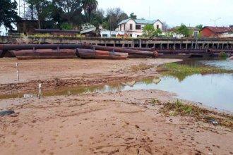 El río nuevamente se encuentra por debajo del nivel cero en Paraná