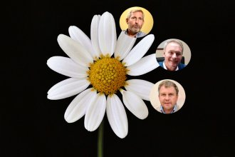 Deshojando la margarita: Moine y Alasino jugarán para la oposición pero no confirmaron con quién
