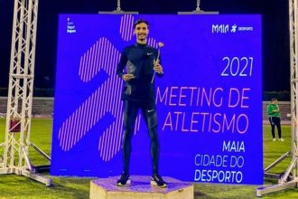 Bruno, triunfo y segundo podio en el Meeting de Braga