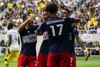 Cuarto gol consecutivo de la Pantera Bou: su equipo empató y sigue puntero