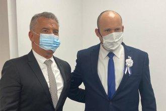 Urribarri se reunió con el nuevo primer ministro de Israel y acordaron avanzar con el trabajo conjunto