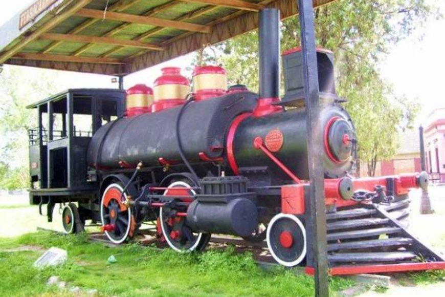 La primera locomotora que marchó por Entre Ríos.