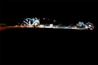 Hay una cuarta víctima fatal por el choque frontal en Ruta 18