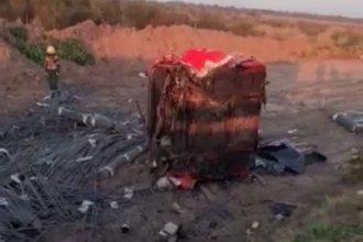 Nuevo accidente sobre Ruta 18: tres vehículos involucrados y heridos de gravedad