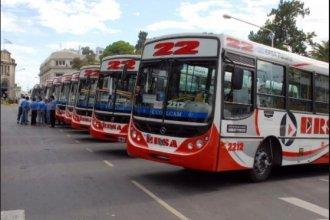 El paro deja sin colectivos a la capital entrerriana durante el fin de semana largo