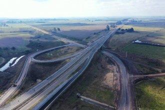 Sin la presencia del presidente, inauguraron un nuevo tramo de la Ruta 18