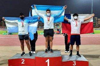 Otro entrerriano aportó una medalla dorada y la Selección alcanzó la marca de Guayaquil 2003