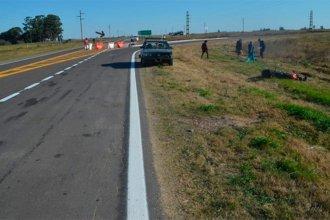 Nueva tragedia en Ruta 18: viajaba hacia San Salvador, cuando fue impactado por un auto
