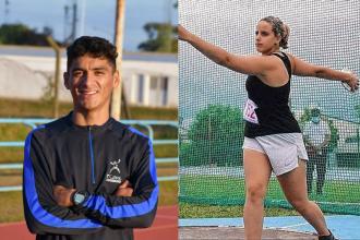 Oro y plata, los aportes de dos entrerrianos para el medallero argentino en una nueva jornada del Sudamericano