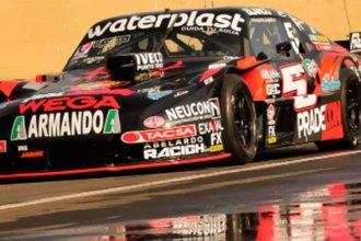 Un choque dejó a Werner fuera de carrera y el marplatense Ledesma dominó la pista en Concordia