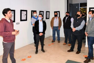 Daniel Mendoza expone sus dibujos en el Centro de Información Turística