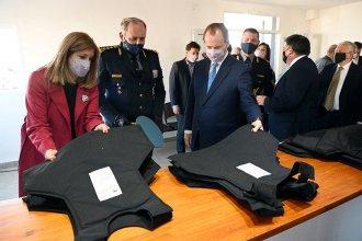 Avanzan en la construcción, refacción y mejora de 16 dependencias policiales en la provincia