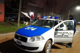 La Policía puso fin a la fiesta de 15