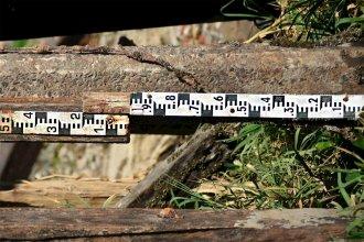 Bajante histórica: modifican el hidrómetro para medir por debajo del cero