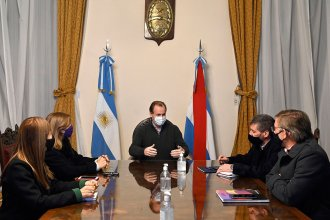 Sin referencia a las elecciones, Bordet analizó la situación sanitaria junto a sus ministros