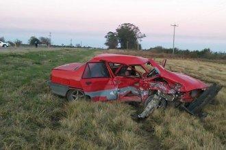 Violento choque sobre Ruta 12: resultaron heridas 8 personas