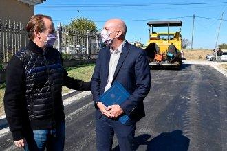 Invierten en infraestructura vial, accesos y enripiados para pequeñas localidades