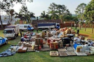 Una aduana paralela y millones en mercadería fueron descubiertos en un operativo de Prefectura