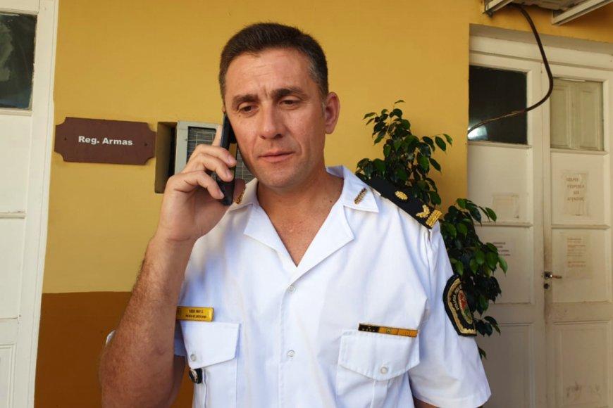 Yari Sosa, subjefe de Policía Gualeguaychú.