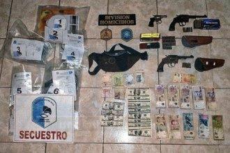 Caso Calleja: en allanamientos, secuestraron cocaína, dinero y armas