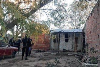 Un hombre falleció en el trágico incendio de su vivienda