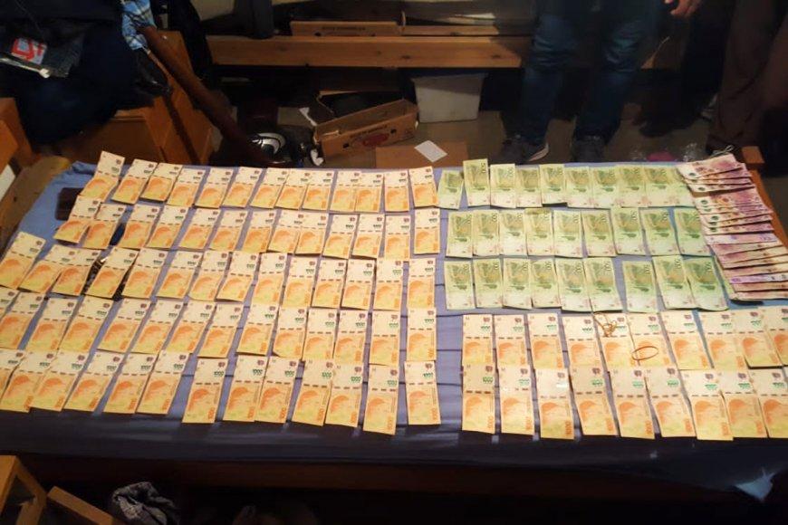Ese dinero había sido robado de barrio Tague.