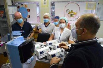 Entrega, elementos y uso: el Hospital Masvernat suma equipamiento a su sala de pediatría