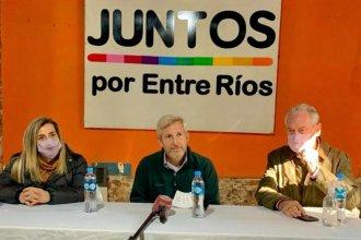 """Frigerio pidió """"ponerle un límite al 'vamos por todo' del kirchnerismo"""" en su visita a Gualeguay"""