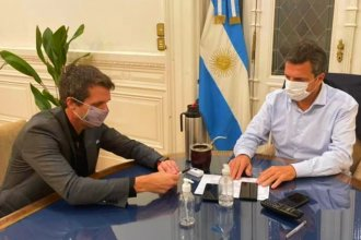 La otra foto del precandidato: Enrique Cresto se reunió con Sergio Massa