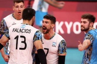 Histórico: la Selección Argentina de vóley venció a Italia y pasó a las semifinales