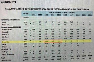 La deuda de 500 millones de dólares de Entre Ríos: ¿podrá pagarla el que sigue?